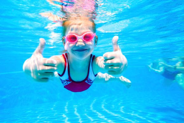 Fortgeschrittenen Schwimmkurs